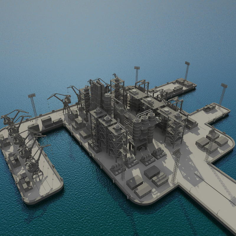 industrial port plant max