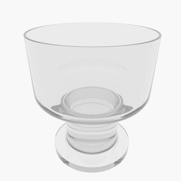3ds max modern whiskey glass