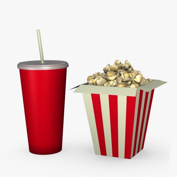 3ds popcorn drink