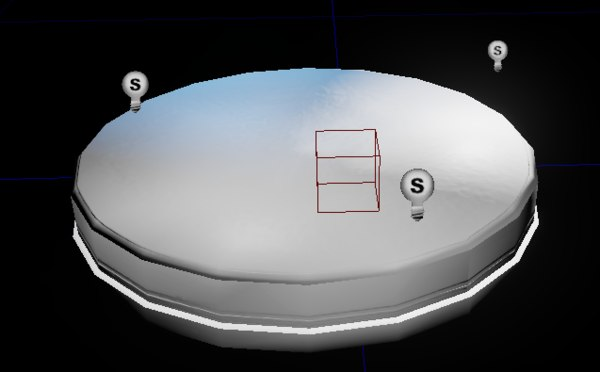 free base 3d model