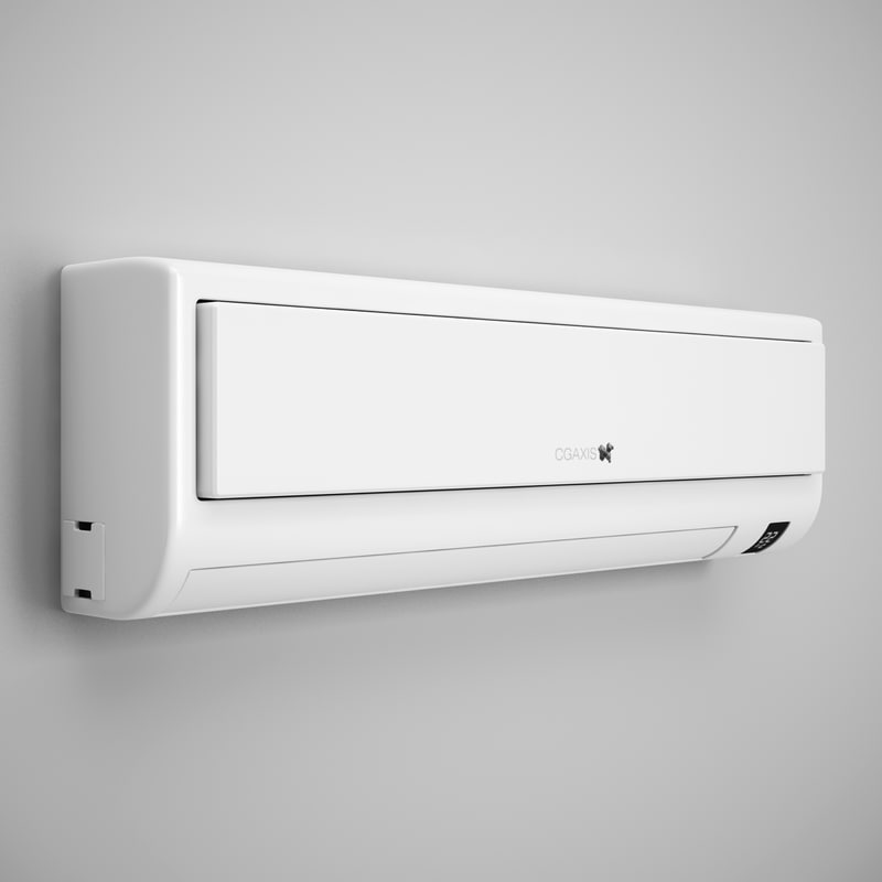 3ds max wall air conditioner 10