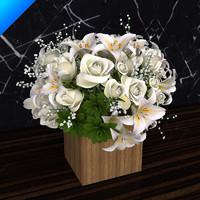 flower design 3d model
