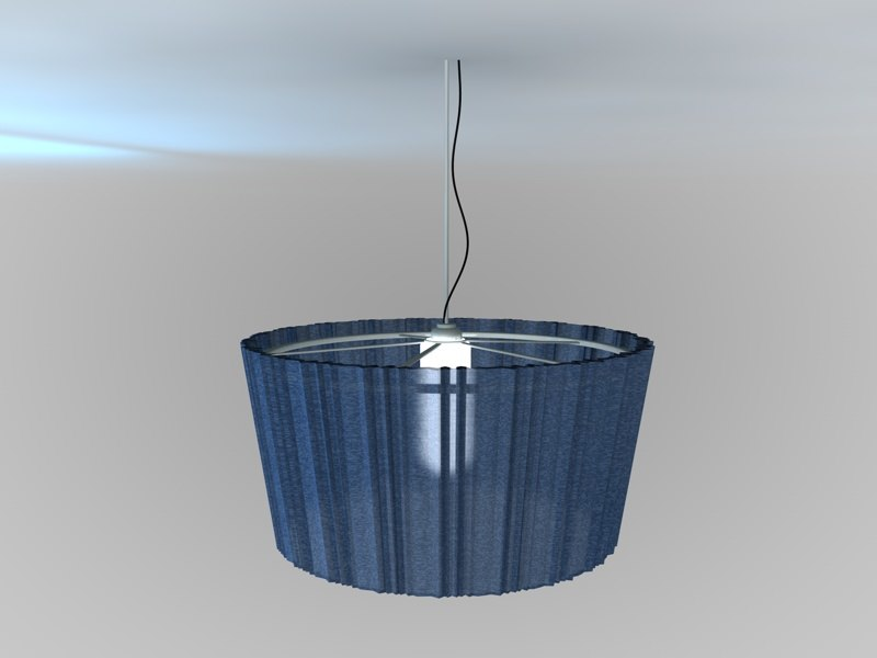 ceiling hanging lighting 3d model