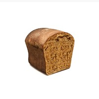 3d bread baked model