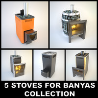 3d 5 stoves russian banyas