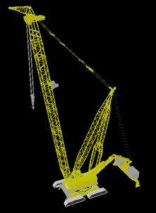 3d crane model