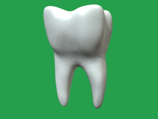 tooth dental 3d obj