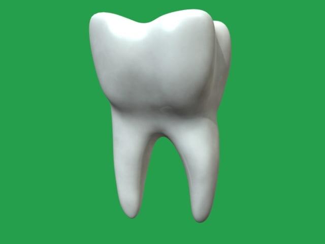 tooth dental 3d obj