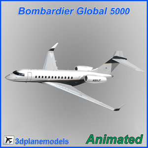 bombardier global 5000 max