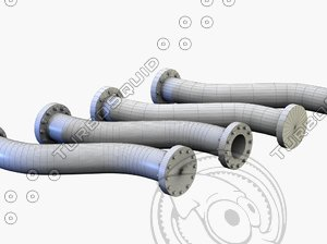 max pipe bended modelled
