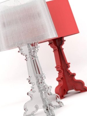 kartell bourgie lamp interior obj