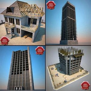 maya building constructions