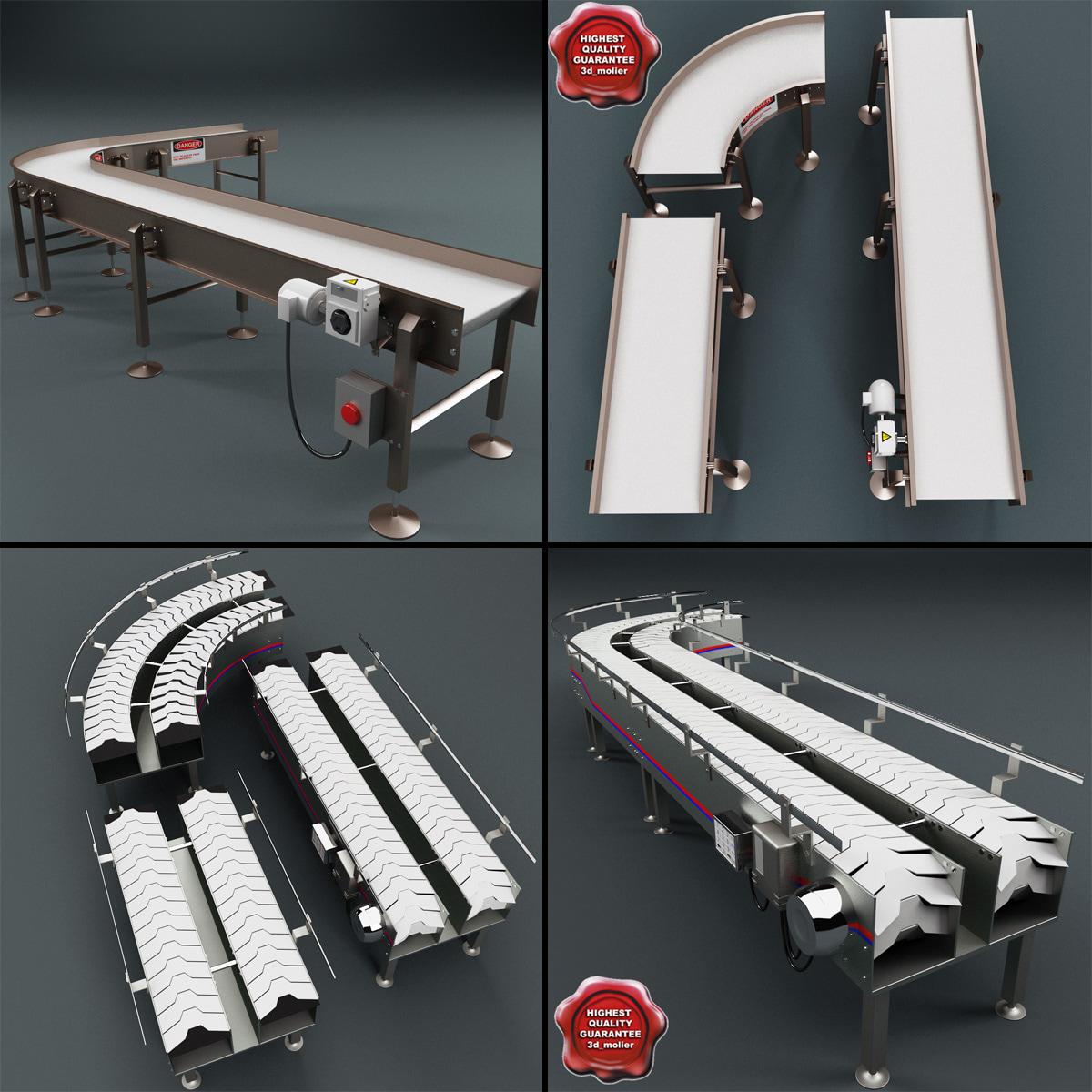 conveyor v3 3d model