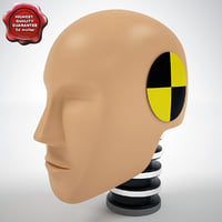 Crash Test Dummy Hibrid 3 Head