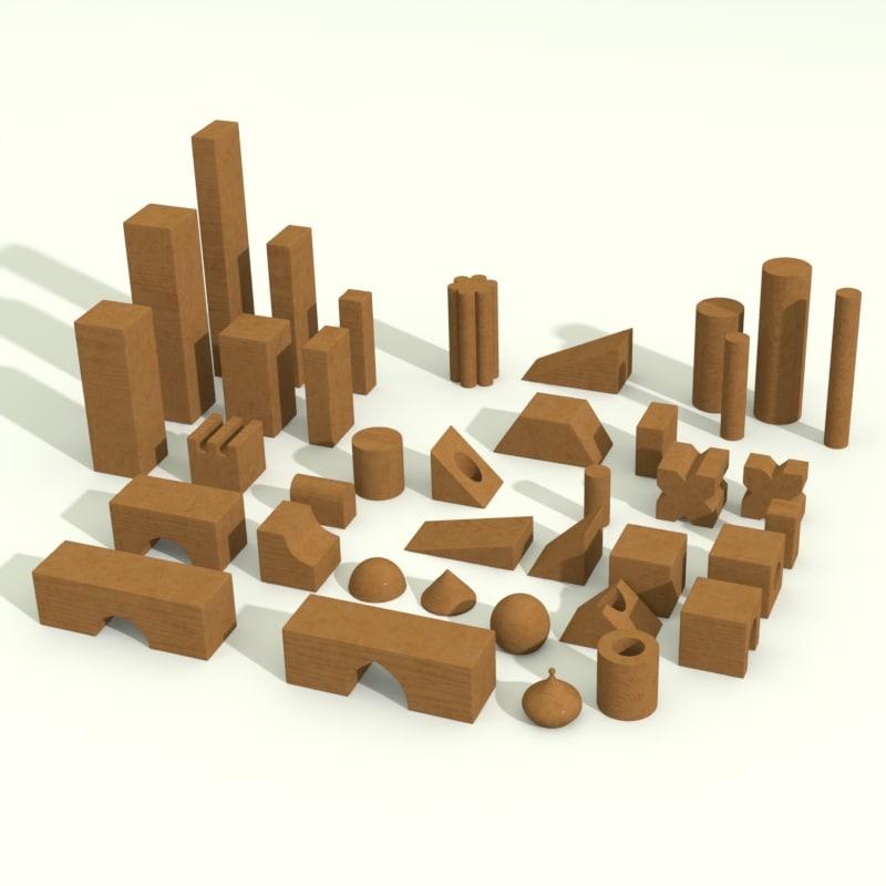 obj building blocks