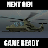 RAH-66 Comanche US Army Stealth Helicopter Game Ready