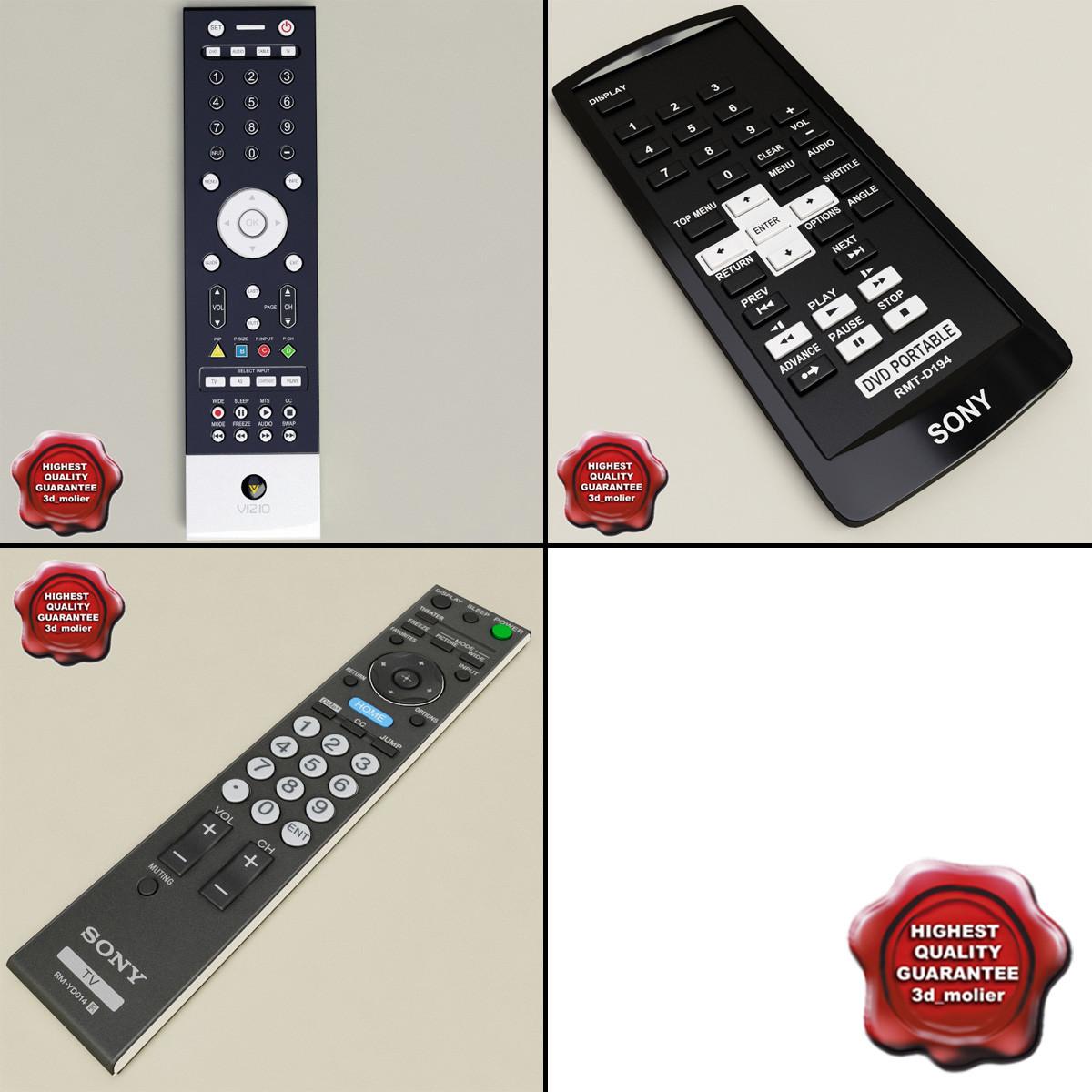3d remotes v2 model
