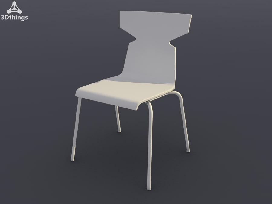 conference chair ole t-shape 3d model