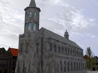 cistercian abbey obj