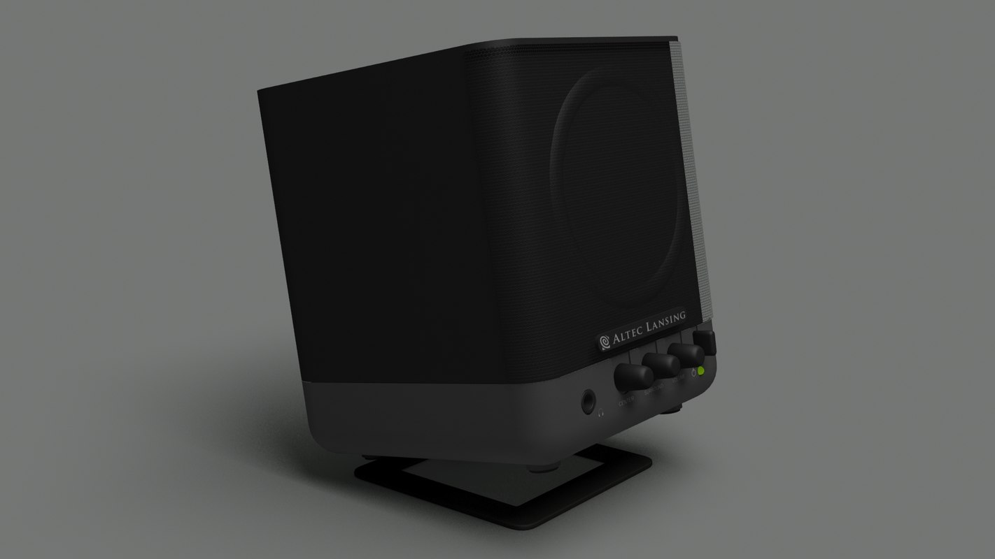 altec lansing speaker max