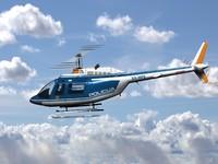 Bell 206 III Jetranger Slovenian Police