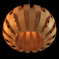 CGAxis Unique Wooden Chandelier 03
