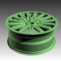 wheel 17x7.5 nurbs