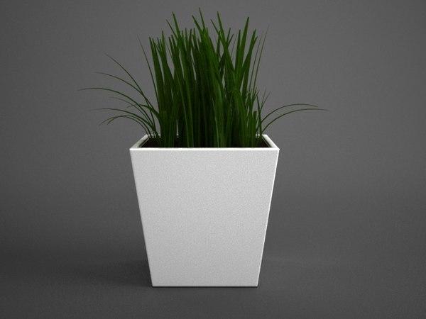 maya grass flowerpot studio