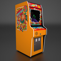 Donkey Kong 3 Arcade Low Poly