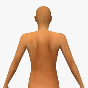 3d nude female model