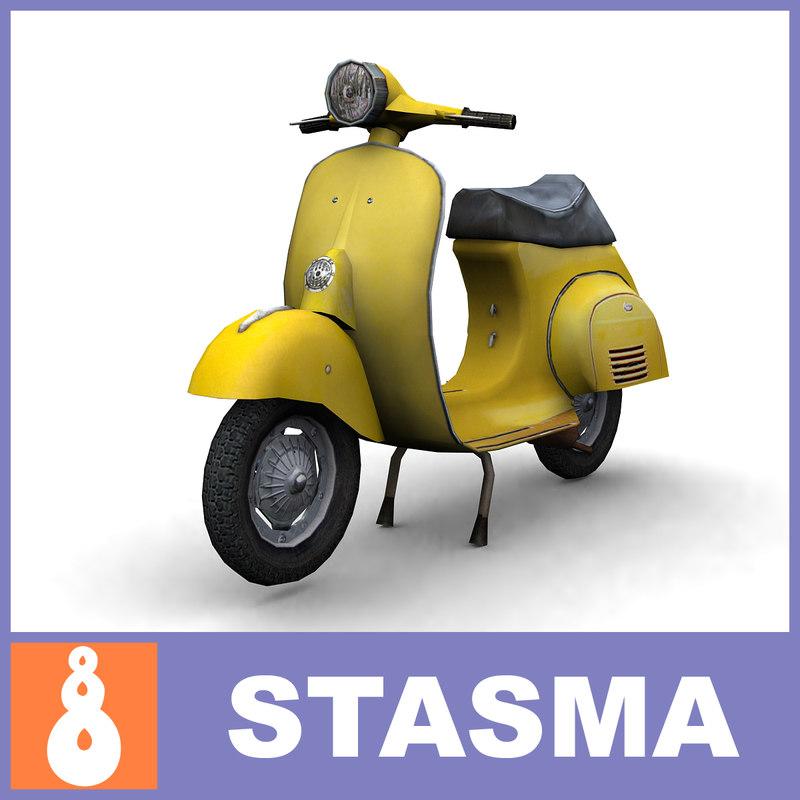 max vespa scooter