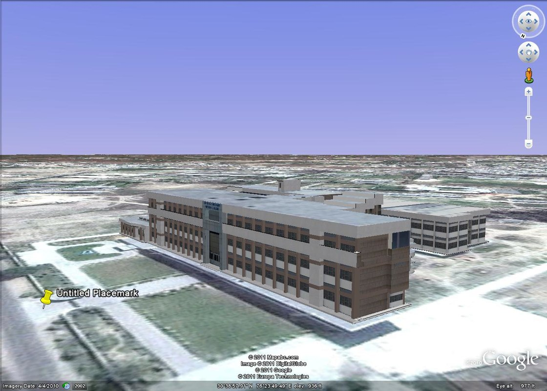 college building purpuses 3d 3ds
