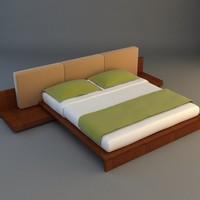 3d bed interior model