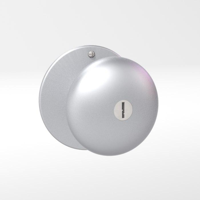 3d model doorknob