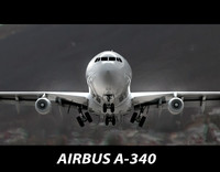 High poly Airbus A-340