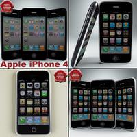 3d model apple iphones