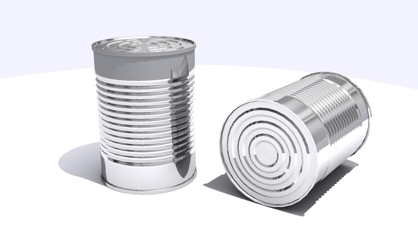 3d tin model