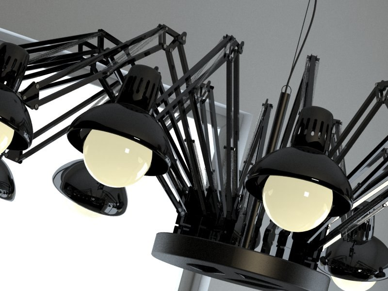 3d model ron dear ingo lamps