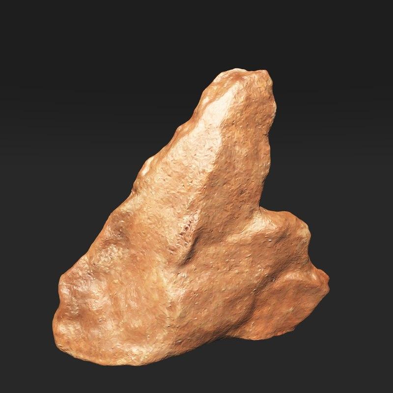 3d model tool stone