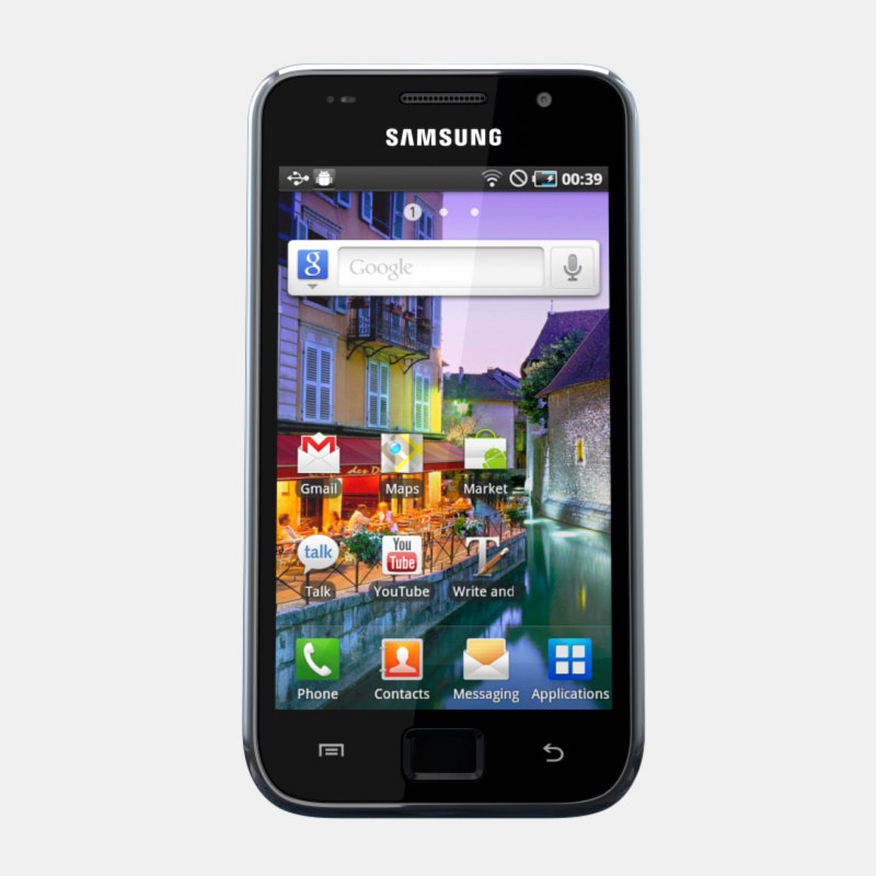 3d samsung i9003 galaxy sl model