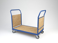 transport trolley 2 3d model