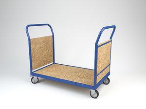 transport trolley 2 3d model