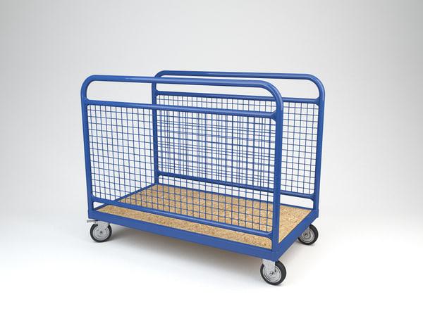 c4d transport trolley