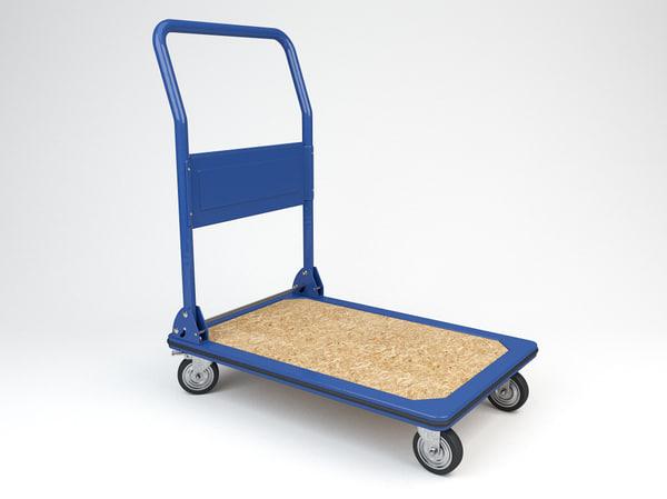 3d model transport trolley