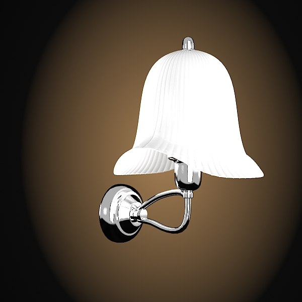lineatre bathroom sconce 3d max