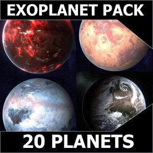 3d planets model