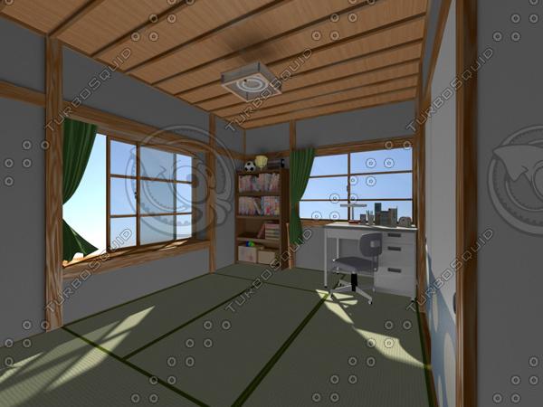 japan s room obj