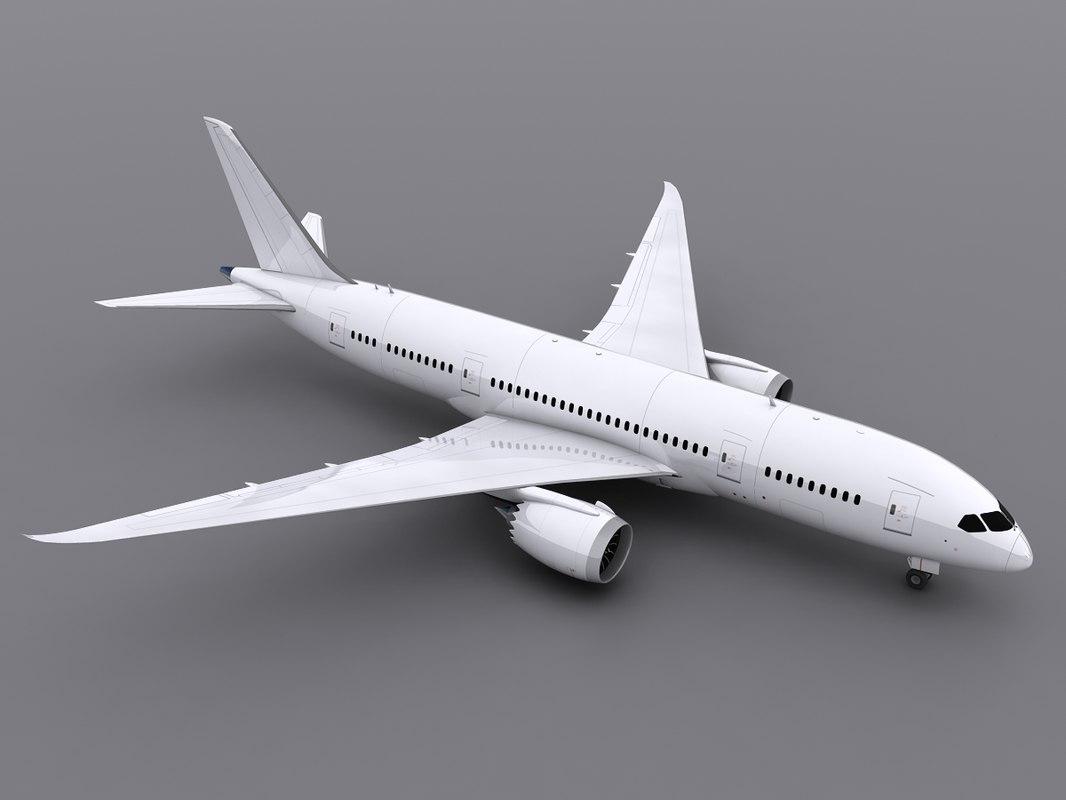 3d aircraft generic model