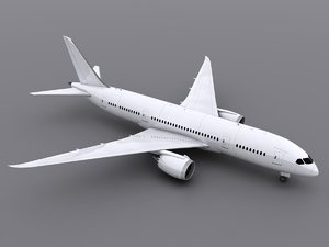 3d aircraft generic model