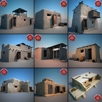 Afghanistan Houses Collection V3